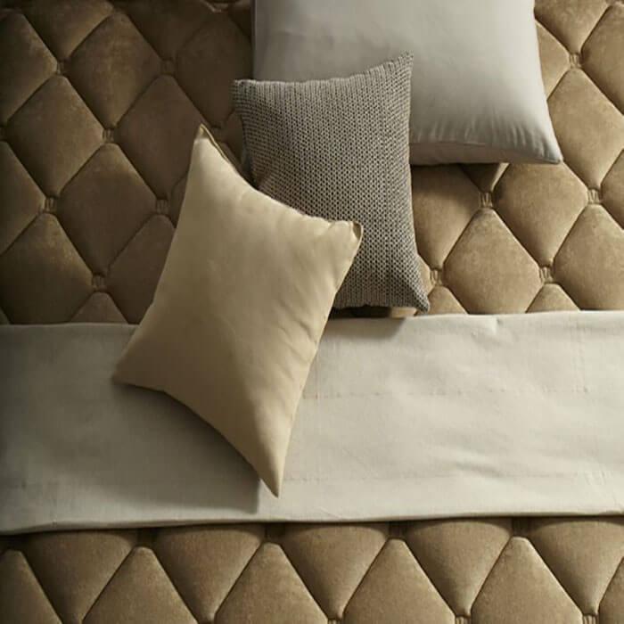 Nệm Lotus giúp không gian ngôi nhà thêm phần tinh tế và nổi bật.