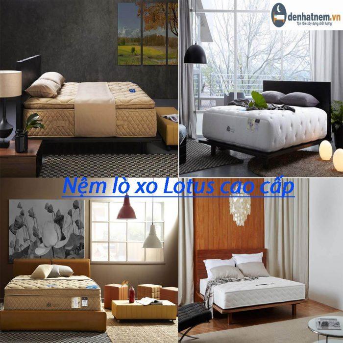 Nệm Lò xo Lotus là thương hiệu nệm cao cấp của Thái Lan