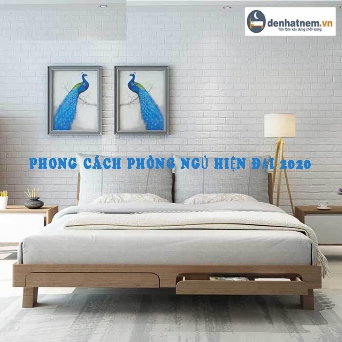 Top phong cách phòng ngủ hiện đại được yêu thích nhất