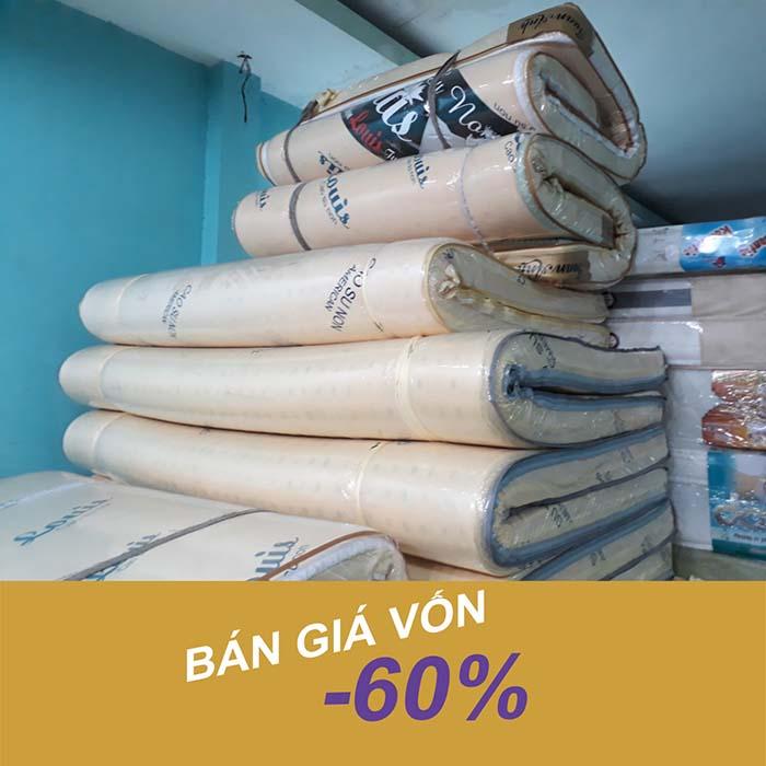 Giải phóng hàng tồn - Cao su non giảm giá 60%