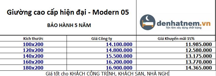bang-gia giuong kim cuong Modern 05