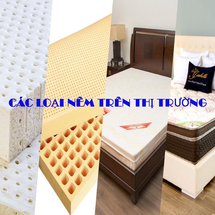 Ưu, nhược điểm của các loại nệm trên thị trường Việt Nam