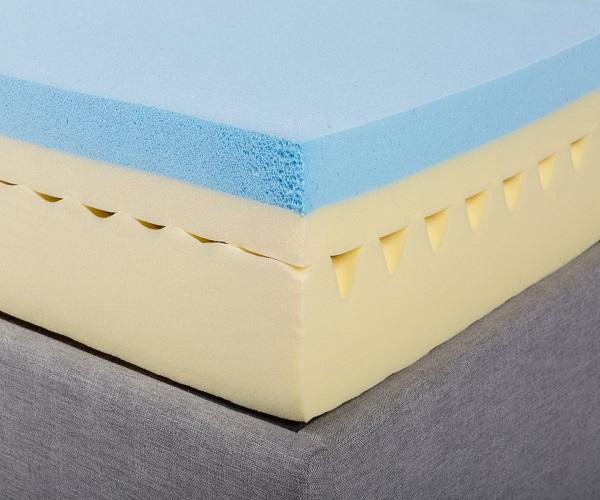 Nệm Foam với nhiều vật liệu: Memory Foam, PU Foam, PVC Foam và PE Foam