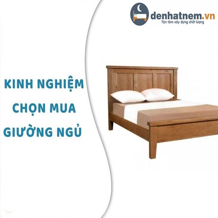 Kinh nghiệm chọn giường ngủ phù hợp với phòng ngủ mọi gia đình