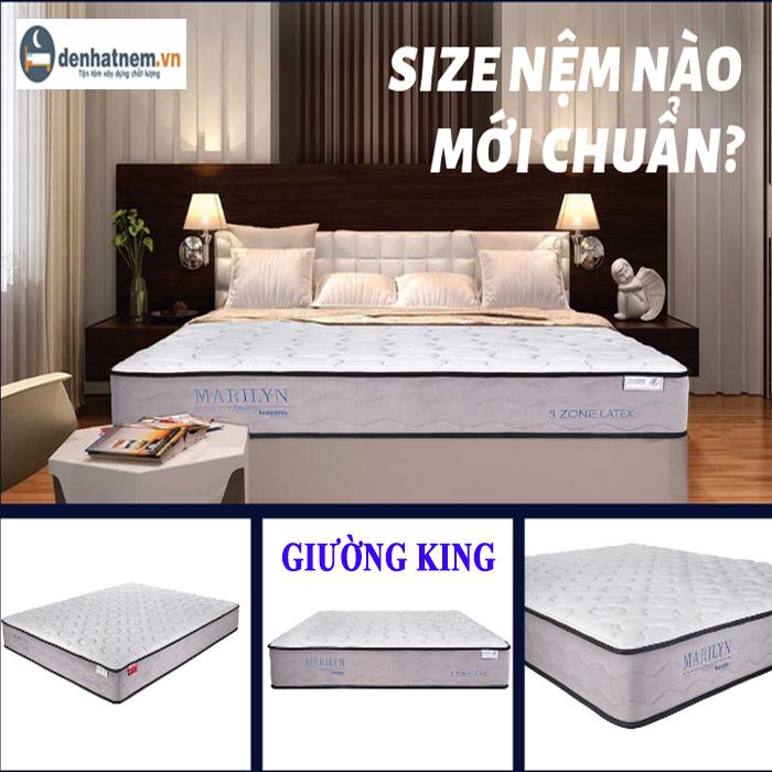 Hướng dẫn chọn nệm ngủ cho giường King đúng chuẩn