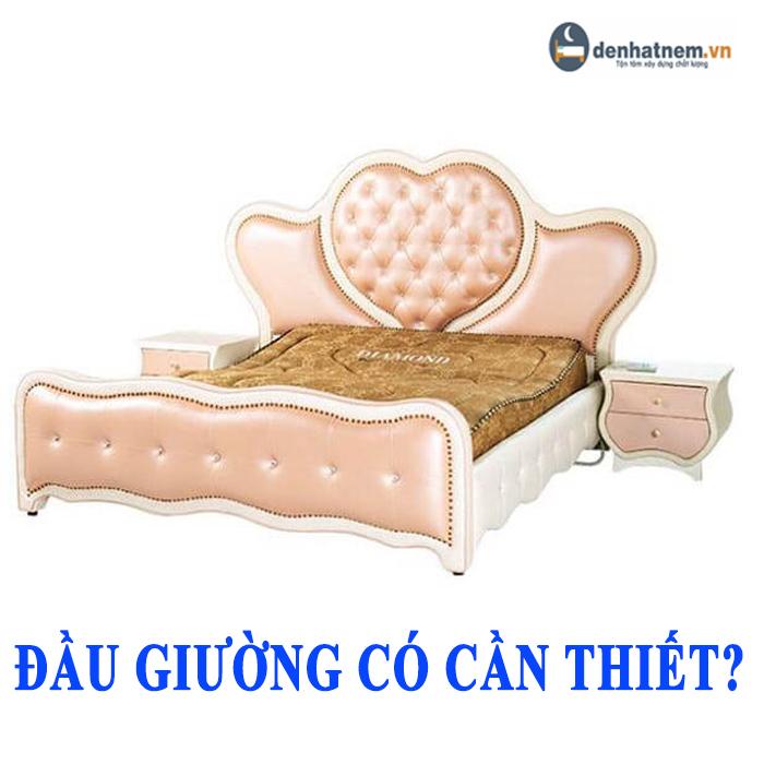Việc sử dụng đầu giường có thực sự cần thiết không?