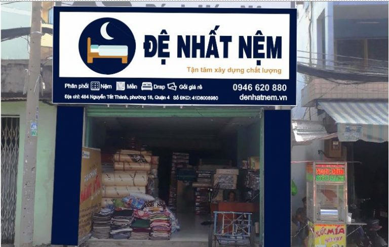 Đệ Nhất Nệm địa chỉ cung cấp chăn ga gối nệm chính hãng uy tín TPHCM