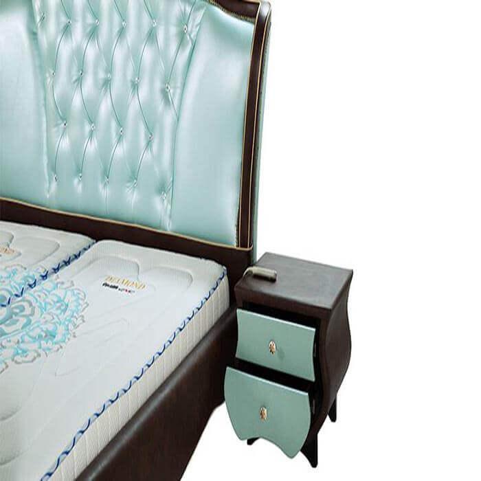 giường Kim cương Smart 02 bảo hành 5 năm phần khung gỗ
