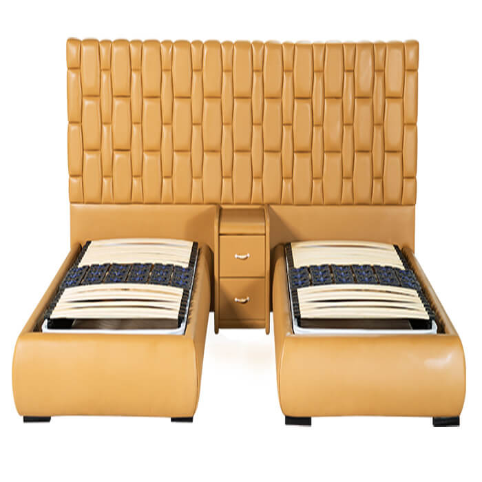 giường đôi khách sạn diamond bảo hành 5 năm phần khung gỗ