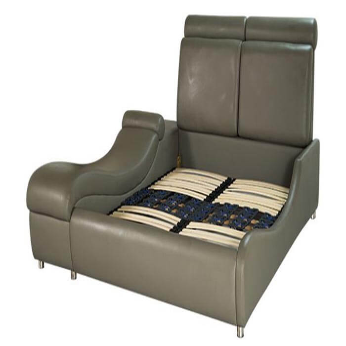 Chiếc giường Comforrt được thiết kế rất nhiều hộc tủ nhỏ gọn