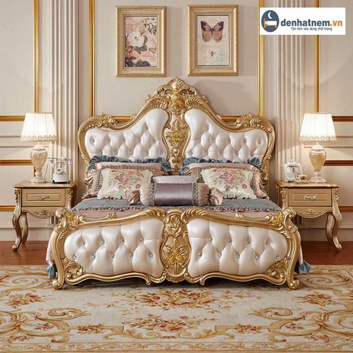 Giường ngủ tân cổ điển - tô điểm tuyệt vời cho không gian sống