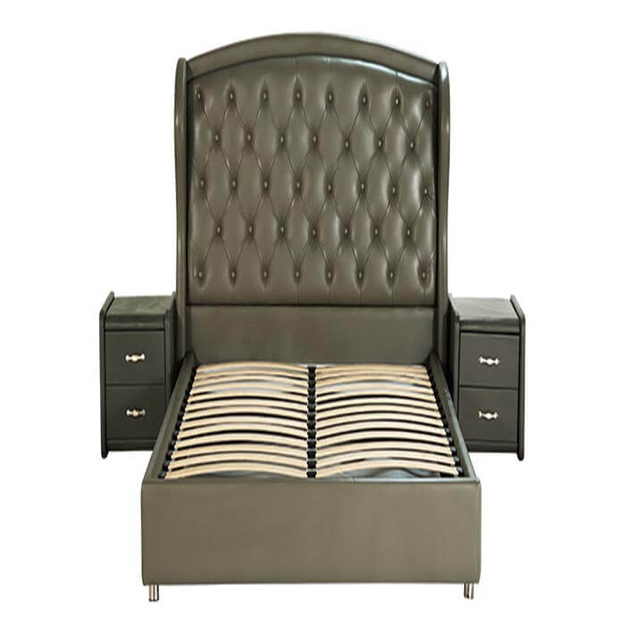 giường truyền thống diamond 01 bảo hành 5 năm phần khung gỗ