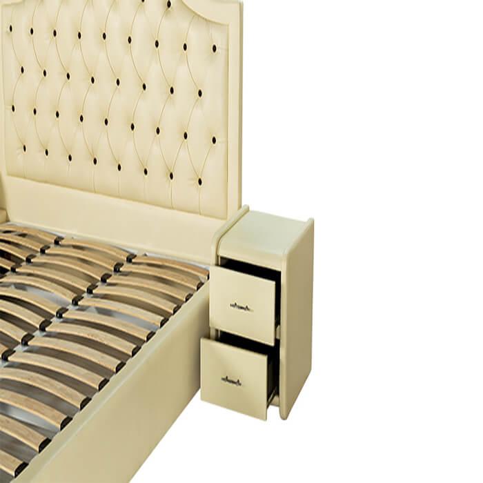 Giường truyền thống Diamond 04 chất kiệu vải sạch khuẩn