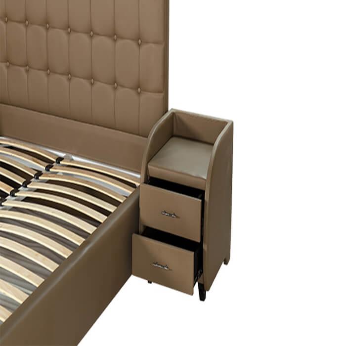 Giường truyền thống Diamond 06 bảo hành 5 năm phần khung gỗ