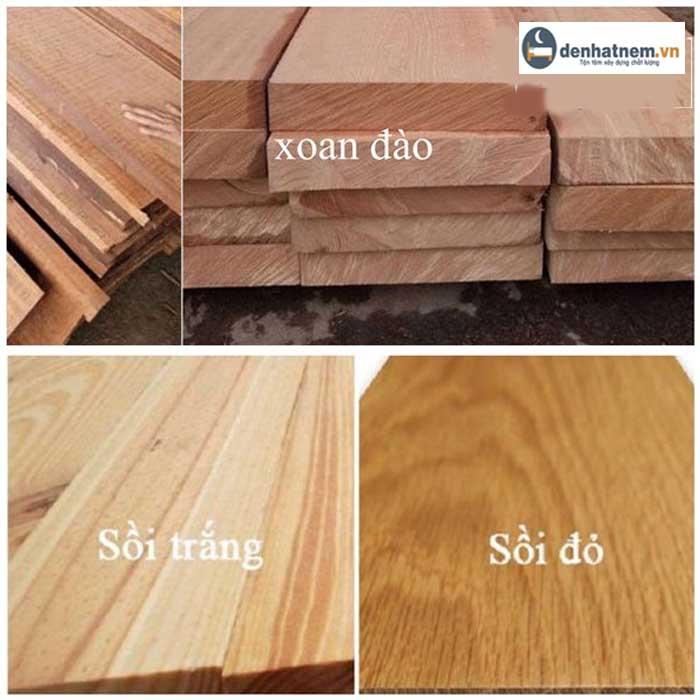 Gỗ sồi và gỗ xoan đào: Loại nào làm nội thất tốt hơn?