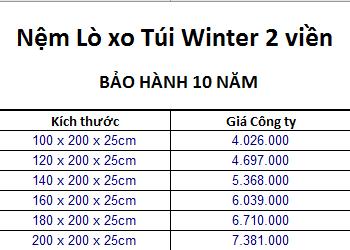 Ưu Việt Winter 2 viền hiện được khuyến mãi 22% + quà hấp dẫn