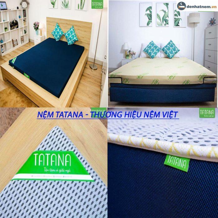 TATANA là một thương hiệu nệm của Việt Nam