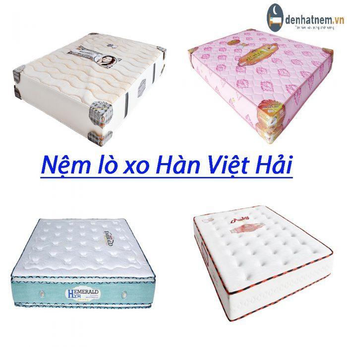 Nệm Hàn Việt Hải tự hào là sản phẩm mang thương hiệu Việt