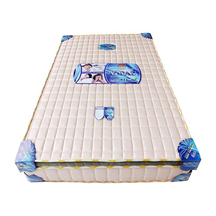 nệm topaz 3 viền vải gấm chất lượng