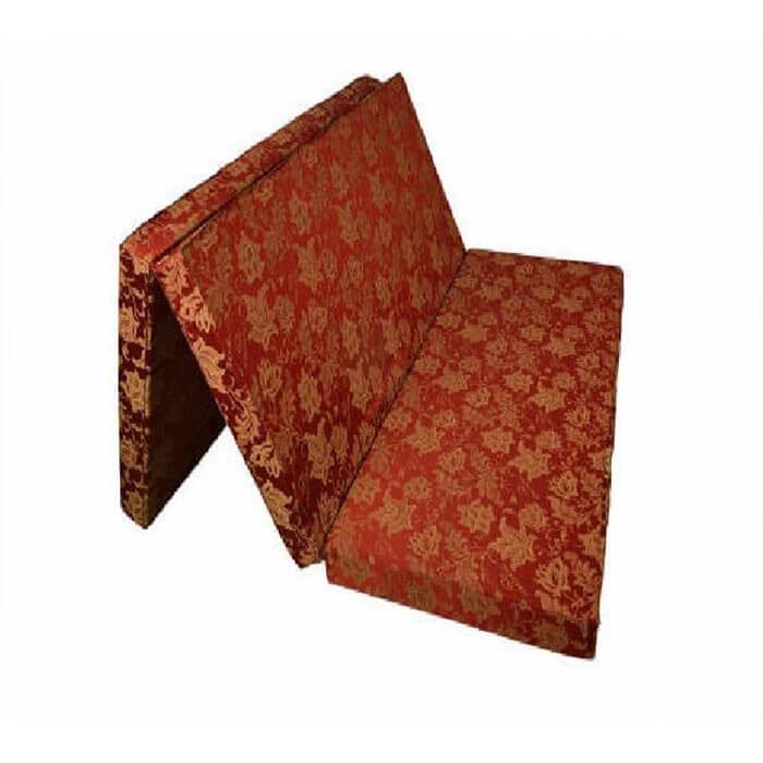 Nệm lớp áo vải gấm, hoa văn trang nhã