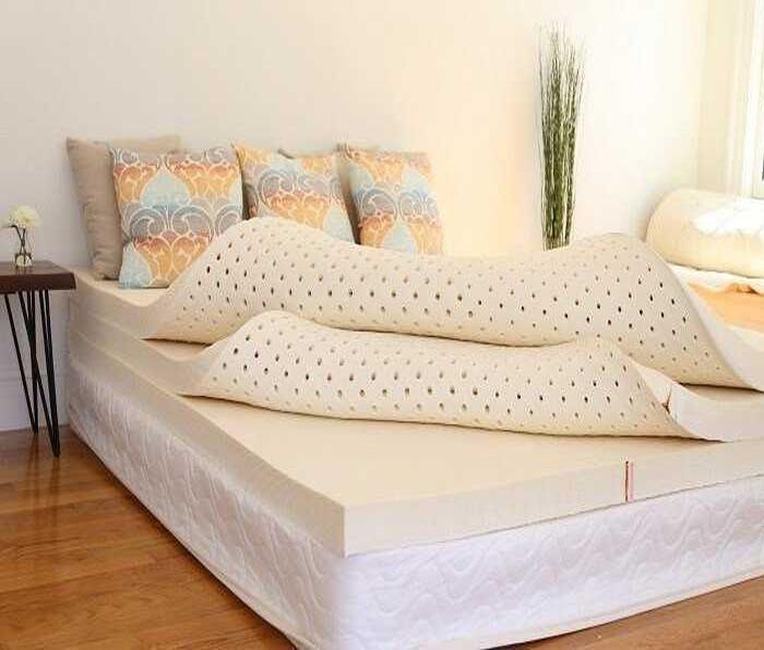 Nệm cao su mang đến cảm giác dễ chịu và thoải mái nhất cho người nằm
