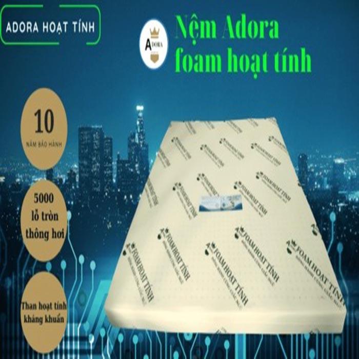 Nệm Foam hoạt tính Adora với 5000 lỗ thông hơi