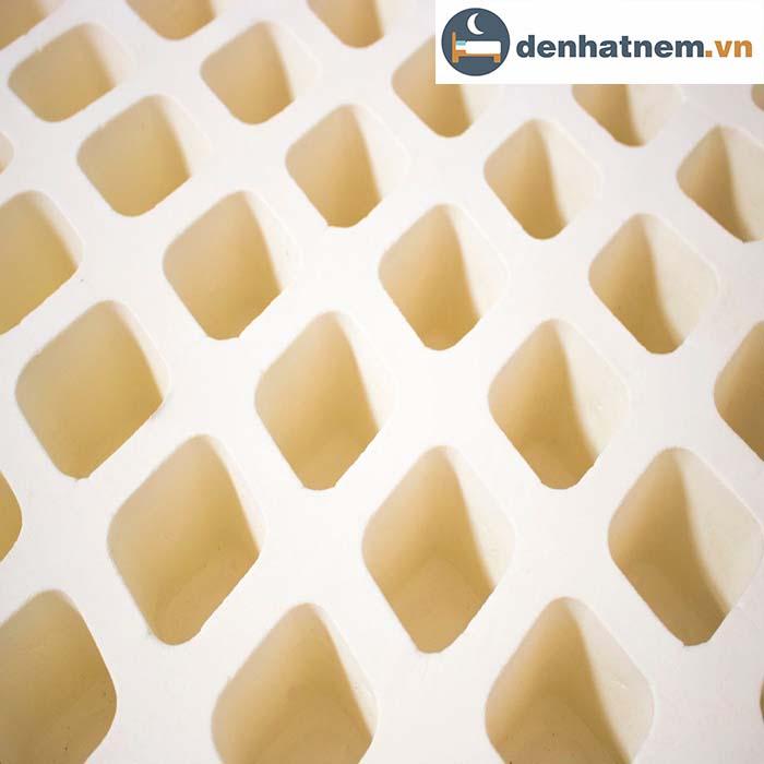 Nệm cao su Tatana Standard mặt lỗ vuông