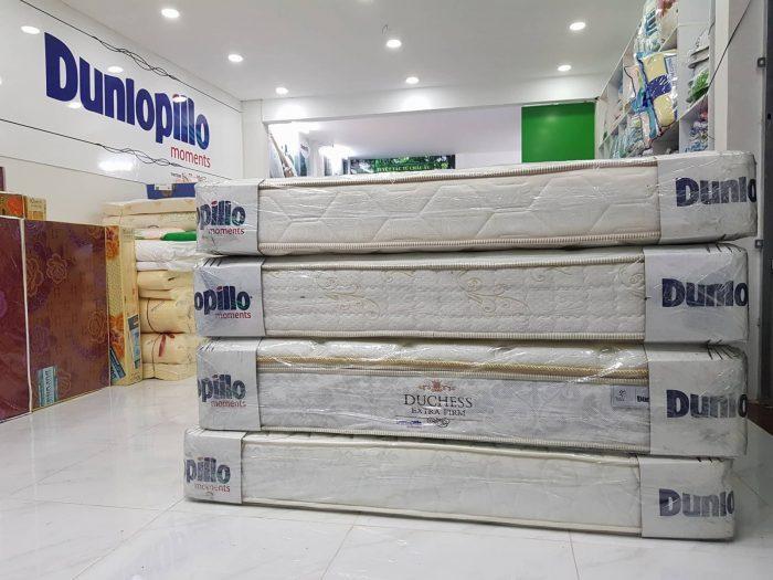 Nệm Dunlopillo là thương hiệu nệm đứng đầu thị trường chăn ga gối nệm