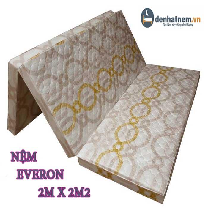 Chi tiết bảng giá nệm Everon 2m x 2m2 mới nhất