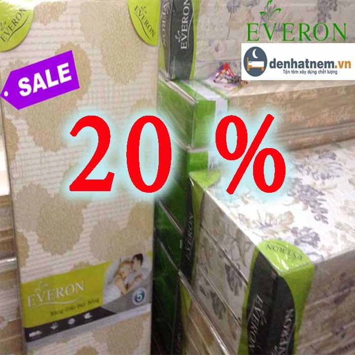 Chương trình nệm Everon giảm giá mới nhất năm 2020