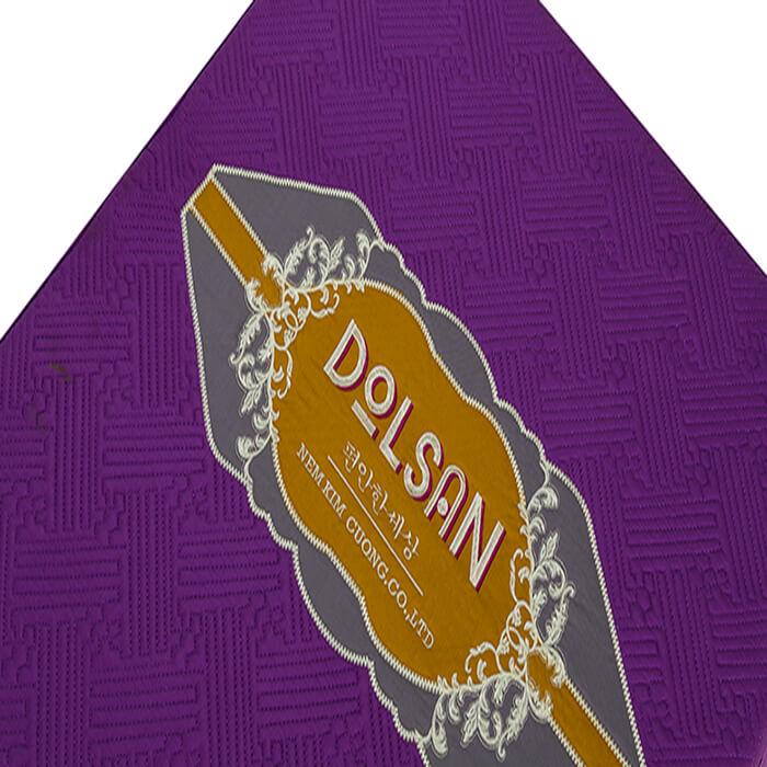 nệm bông gấp 3 dolsan kim cương đệ nhất nệm tốt cho người đau lưng