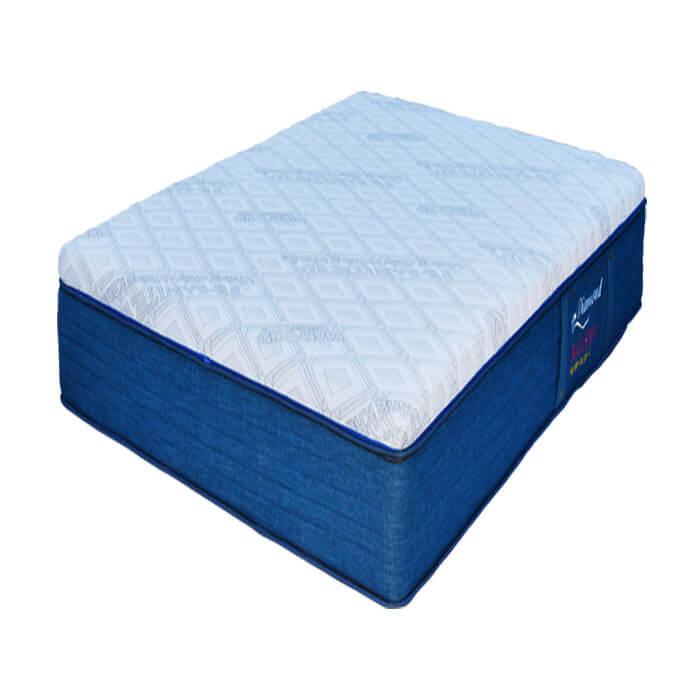 Nệm lò xo két Organic Sleep Kim Cương