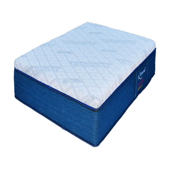 Nệm lò xo két Organic Sleep 01 Kim Cương với lớp vải gấm xốp cao cấp được nhập khảu từ Bỉ