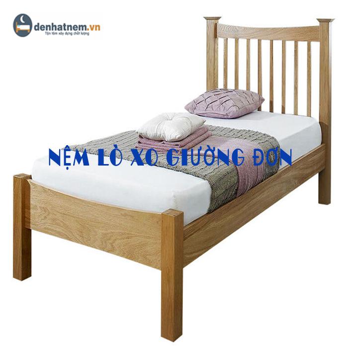 Nệm lò xo giường đơn giá bao nhiêu?