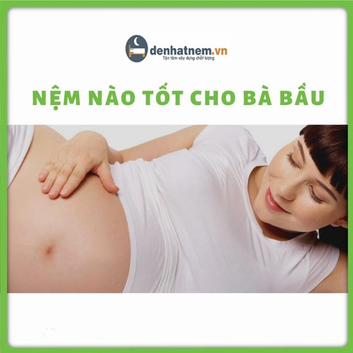 Tư vấn chọn nệm cho bà bầu, phụ nữ mang thai