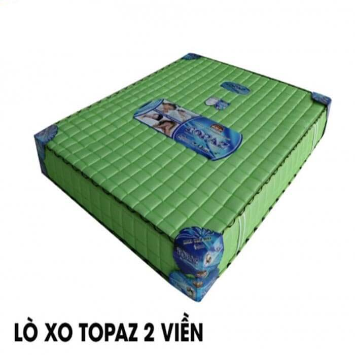 Nệm lò xo Topaz 2 viền Hàn Việt Hải