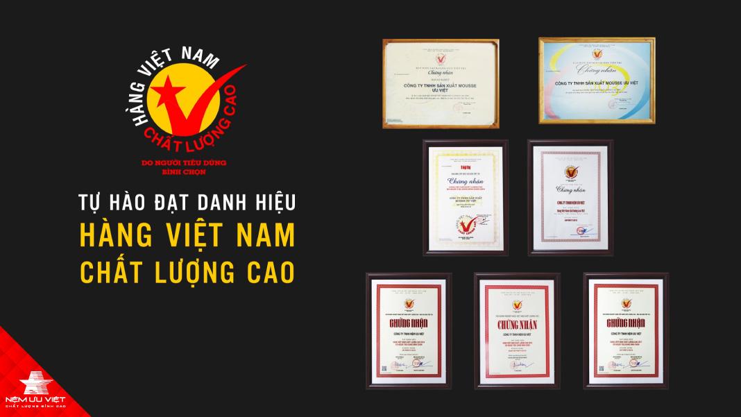 Tổng quan về thương hiệu nệm Ưu Việt