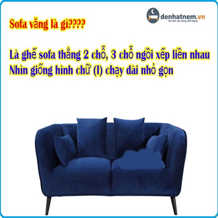Sofa văng là gì? Những thông tin cần biết trước khi mua