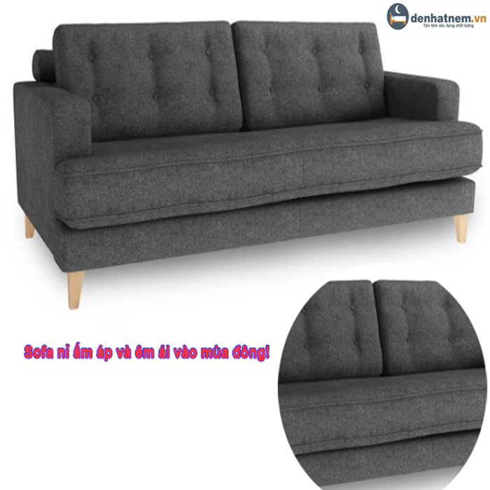 Sofa văng nỉ - Giải pháp hoàn hảo cho không gian nhỏ