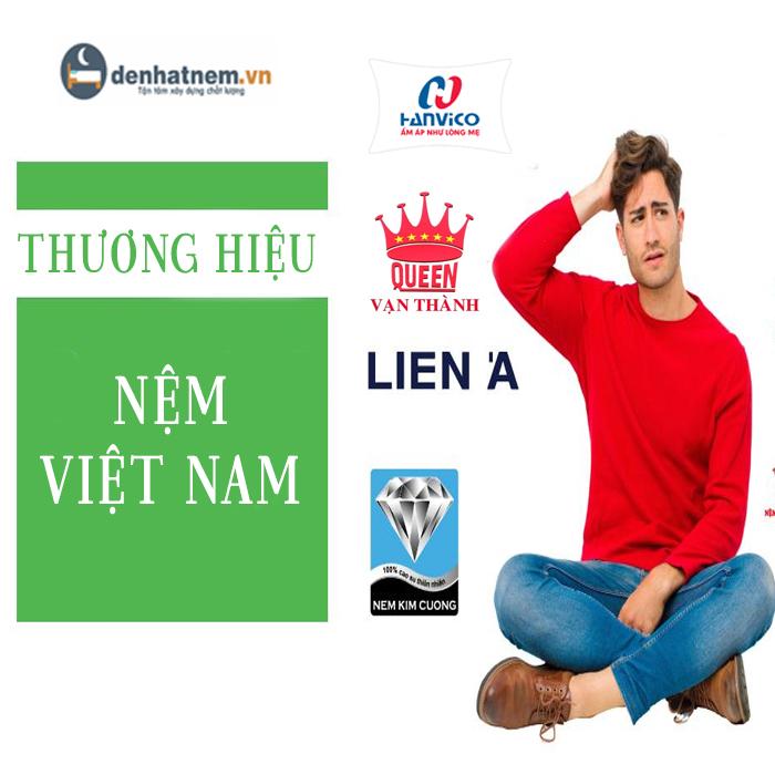 Top 4 thương hiệu nệm Việt Nam được ưa chuộng nhất