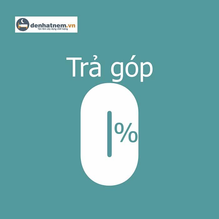 Chính sách trả góp 0%